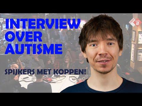 Fabian Franciscus bij Spijkers Met Koppen over autisme