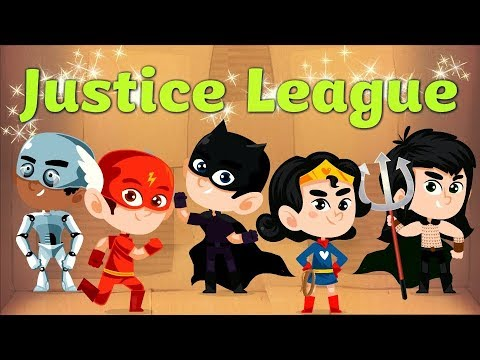 Justice League| Finger Family | Rhymes For Children| Kids Songs
