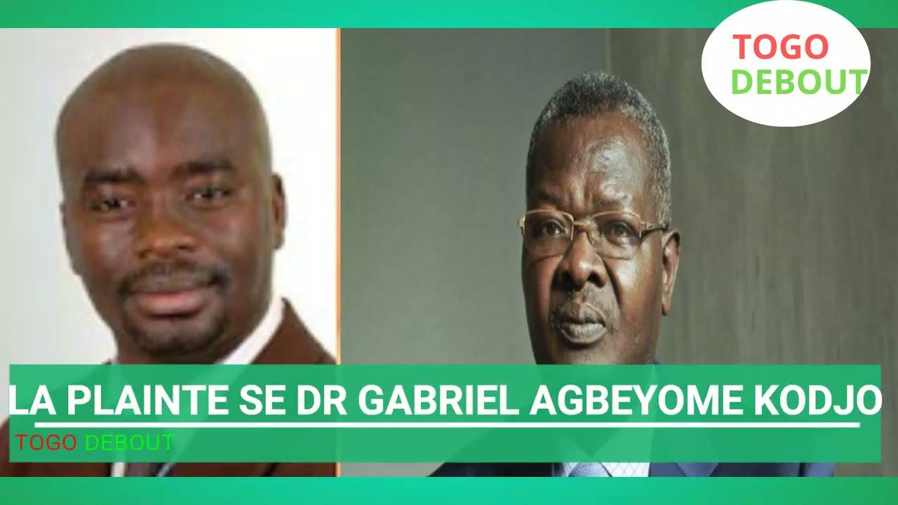 TOGO :  CAMUS ALI   VITRINE 15   LA PLAINTE DE SE DR GABRIEL AGBEYOME KODJO CONTRE RFI.