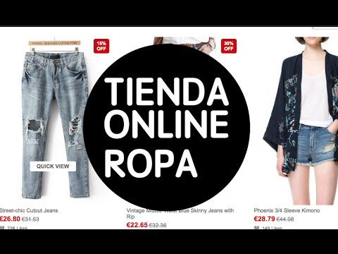 85269e9a4ea Paginas para comprar ropa por intenet - YouTube