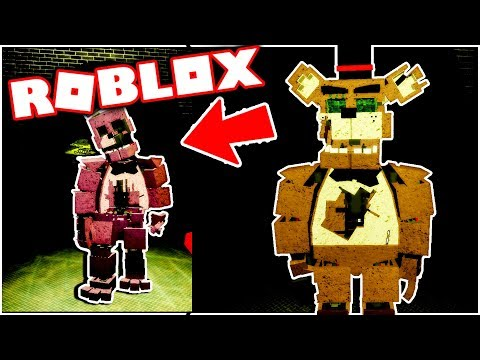 New Fazbear Reborn Prototype Animatronic Morphs! Five Nights at Freddy's Roblox thumbnail