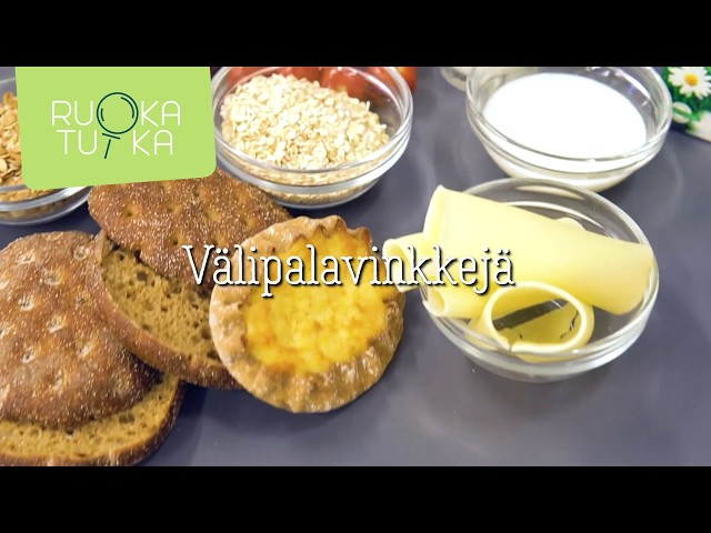 Thumbnail of video called Välipalavinkkejä