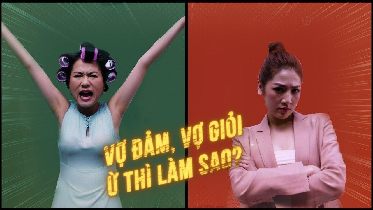 Bạn Là Vợ Đảm Hay Vợ Giỏi? Rap Battle Team Lâm Vỹ Dạ VS Team Dương Tú Anh • Thịt Heo Sạch MEATDeli