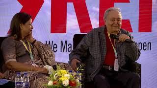 Soumitra Chatterjee, Mostofa Sarwar Farooki, Anik Dutta at Kolkata Literary Meet 2019