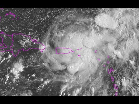 Tropical Storm Gabrielle near Puerto Rico - Update 2 (9/5/13)
