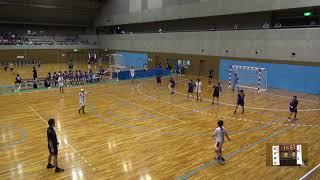 6日 ハンドボール女子 国体記念体育館Dコート 日川×城北 2回戦 2