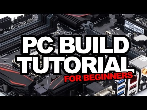 Gaming PC build tutorial for beginners! Step by step install, tips, tricks & buyers guide!