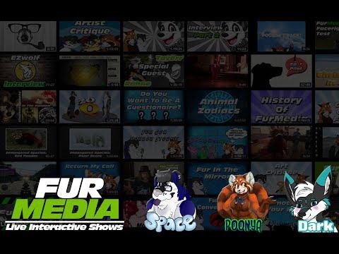 FurMedia Test Stream, New layout, NEW HOSTS!