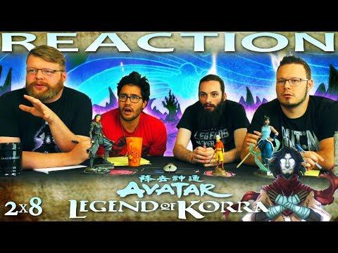 "Legend of Korra 2x8 REACTION!! ""Beginnings, Part 2"""
