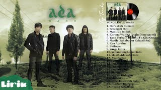 Download ADA BAND - Full Album Lagu POP Terbaik tahun 2000an