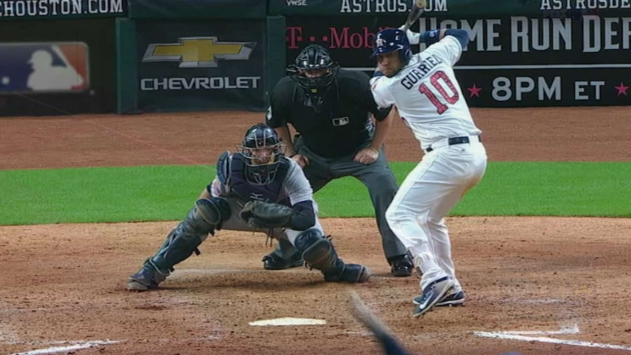 25a593dd673 Yuli Gurriel is the AL Rookie of the Month for July - YouTube