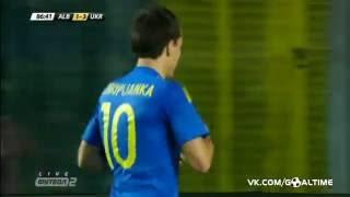 Албания – Украина 1-3 Гол Коноплянка