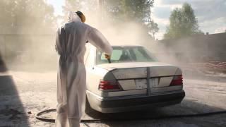 Mercedes 500E W 124 ale jazda - SODOWANIE