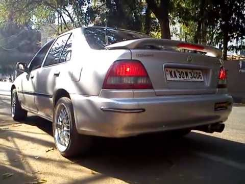 Honda City Modified Remus Exhaust And Shabeer S Race Headers Youtube