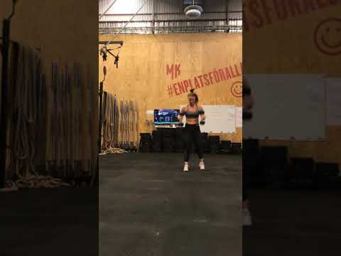 Double DB Split Stand Hang Clean and STOH