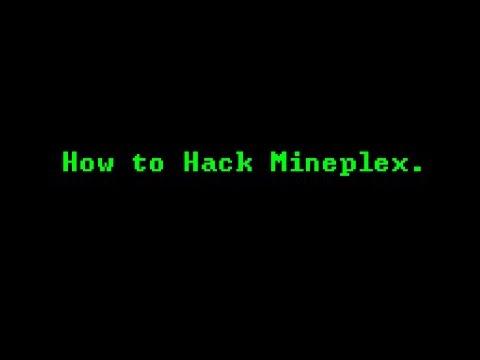 How to Hack Minplex.