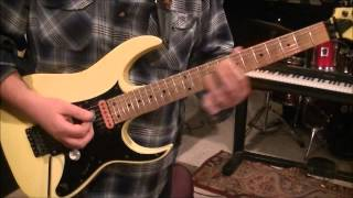 How to play Centerfold by J. Geils Band on guitar by Mike Gross