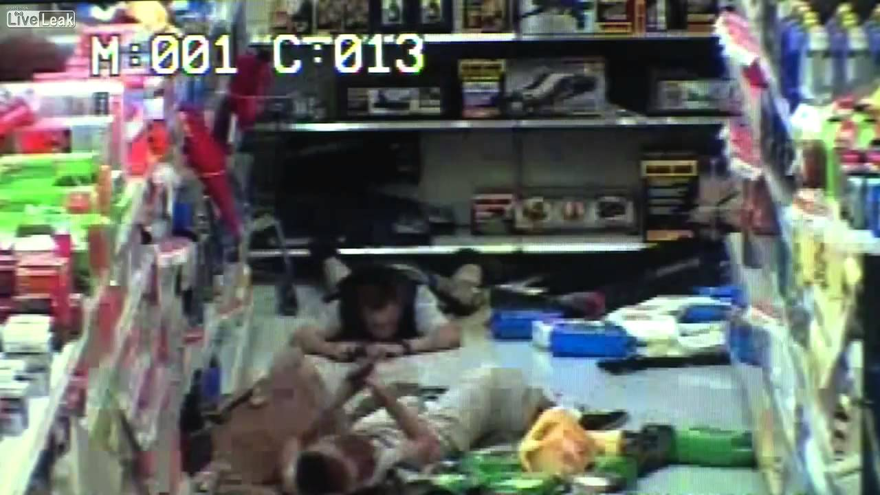 LiveLeak com - Shooting Suspects Killing Themselves In Las Vegas Walmart