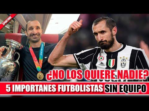 5 Futbolistas de