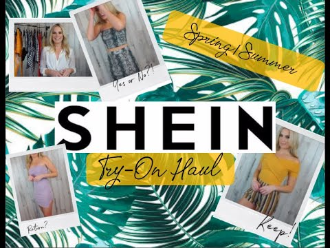 SHEIN TRY ON HAUL 2019/Spring Summer