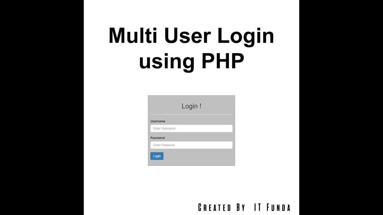 Php user login