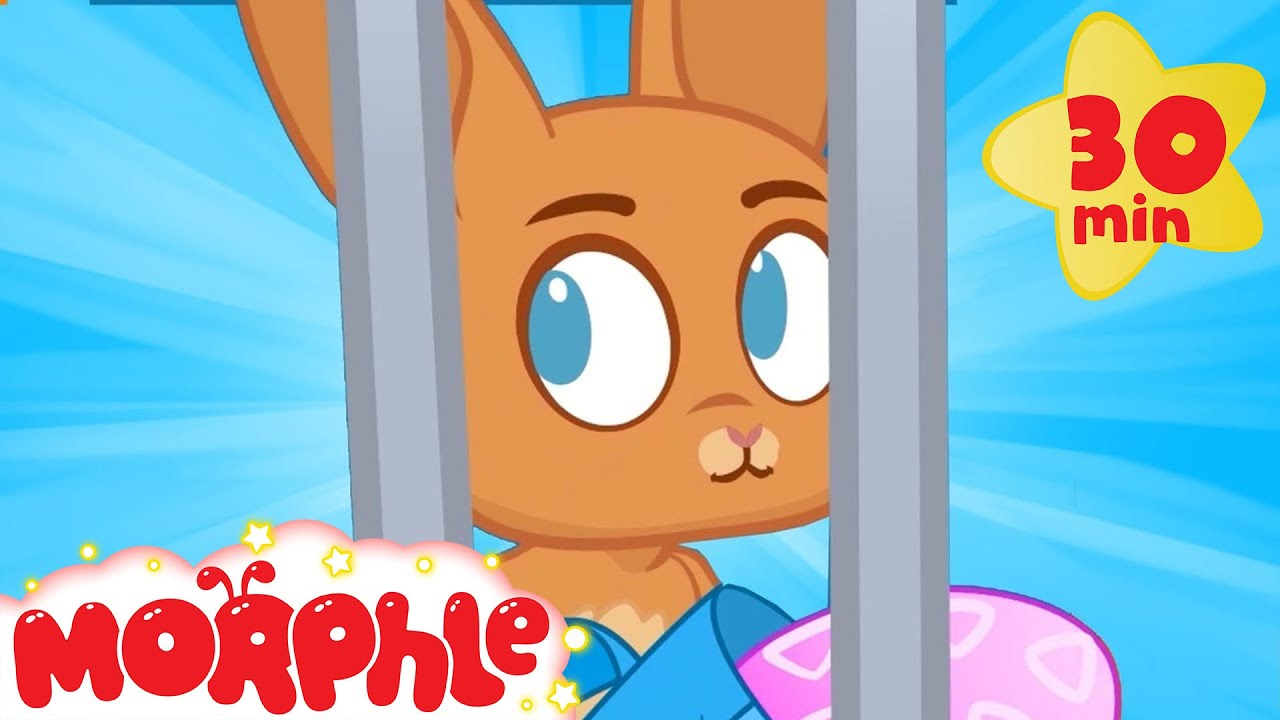 HELP! Bunny Goes JAIL! - My Magic Pet Morphle | Cartoons For Kids | Morphle TV | Kids Videos