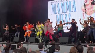 Mamma Mia! @ West End Live 2015 - Trafalgar Square London. Part 6