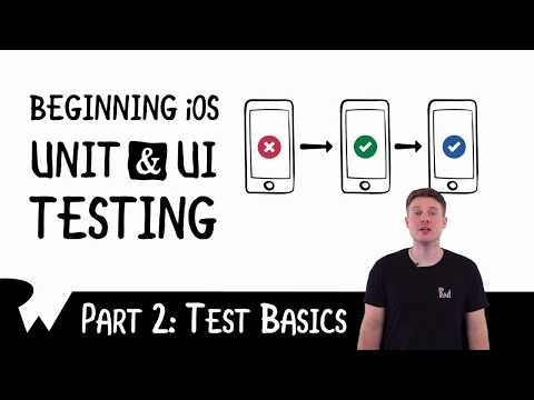 Test Basics - Beginning iOS Unit and UI Testing - raywenderlich.com