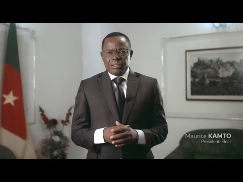 MAURICE KAMTO ask for the recount of the vote by an international commission accepted by the parties