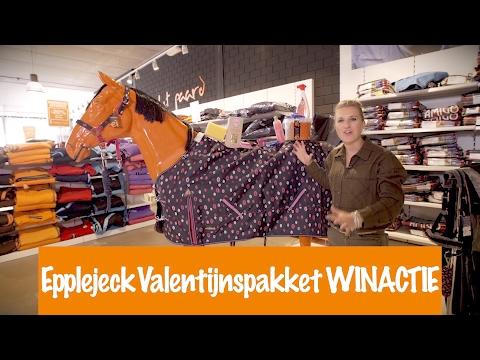 Epplejeck Valentijnspakket WINACTIE! | PaardenpraatTV