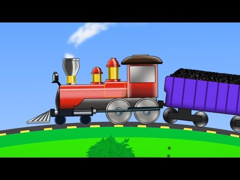 Thumbnail: Train | Uses Of Train | kids videos | kids train | learn transports
