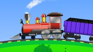 Train | Uses Of Train | kids videos | kids train | learn transports thumbnail