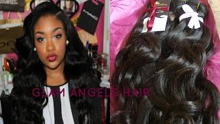 Glam Angels Hair Initial Review| Brazilian Body Wave