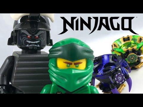 LEGO Ninjago Spinjitzu Lloyd vs. Garmadon review! 2019 set 70664!
