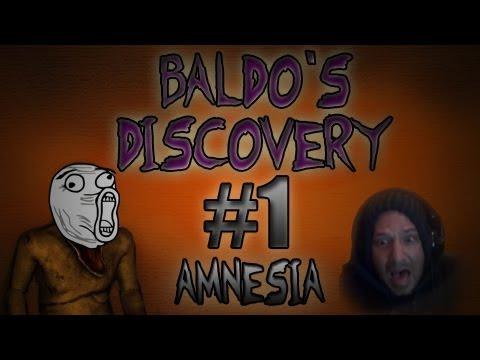 Horror Games - Amnesia the Dark Descent gameplay - Back to BALDOS DISCOVERY!!! Noooooooooooooo!