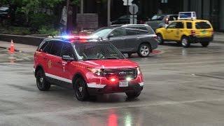 Battalion 1 responding - Chicago Fire Department