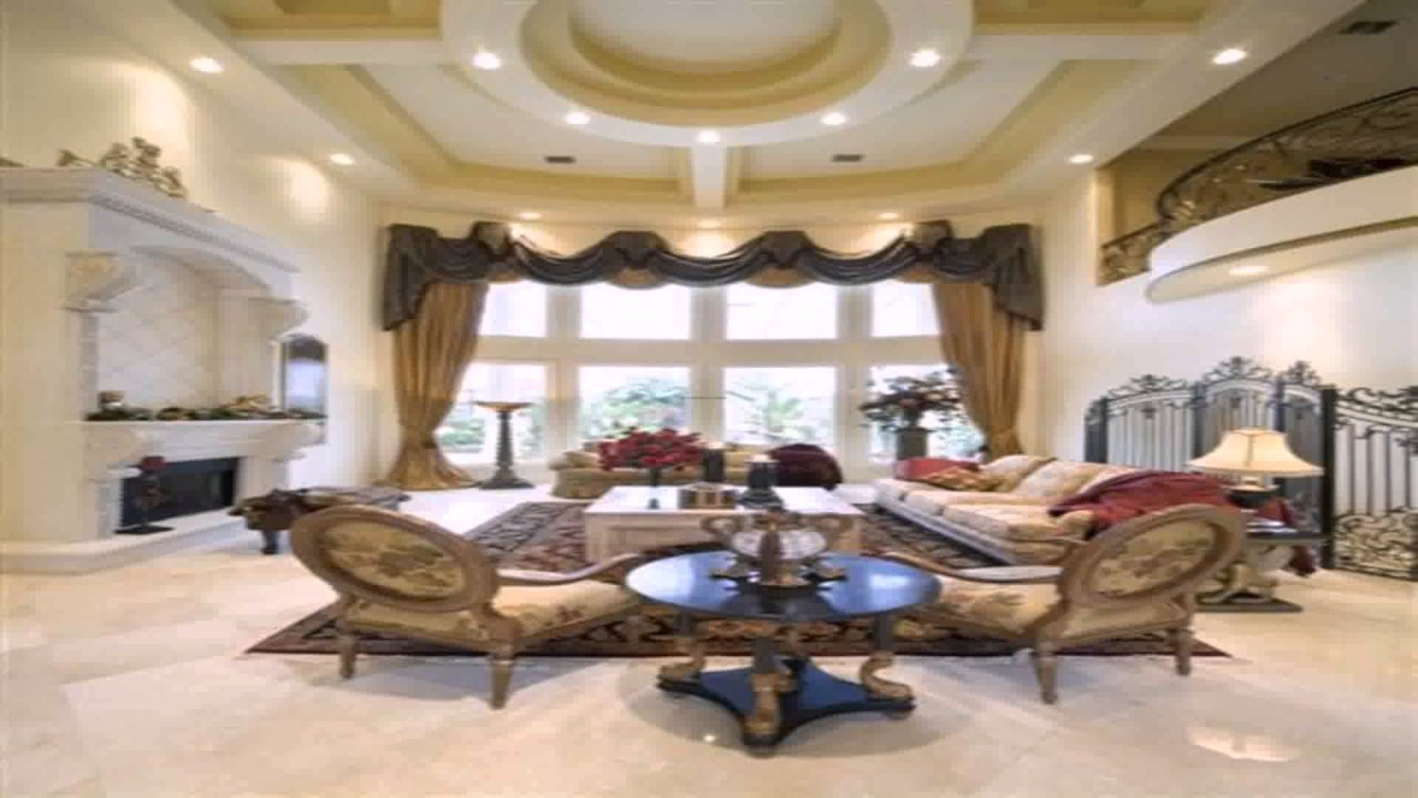 Georgian Style House Interior Design - YouTube