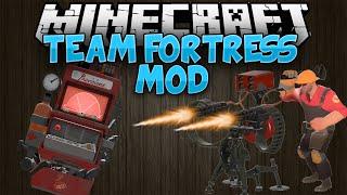 Minecraft Mods || TEAM FORTRESS 2 || Mod Showcase [1.7.10]