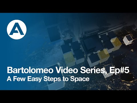 Bartolomeo Video Series, Ep#5: A Few Easy Steps to Space