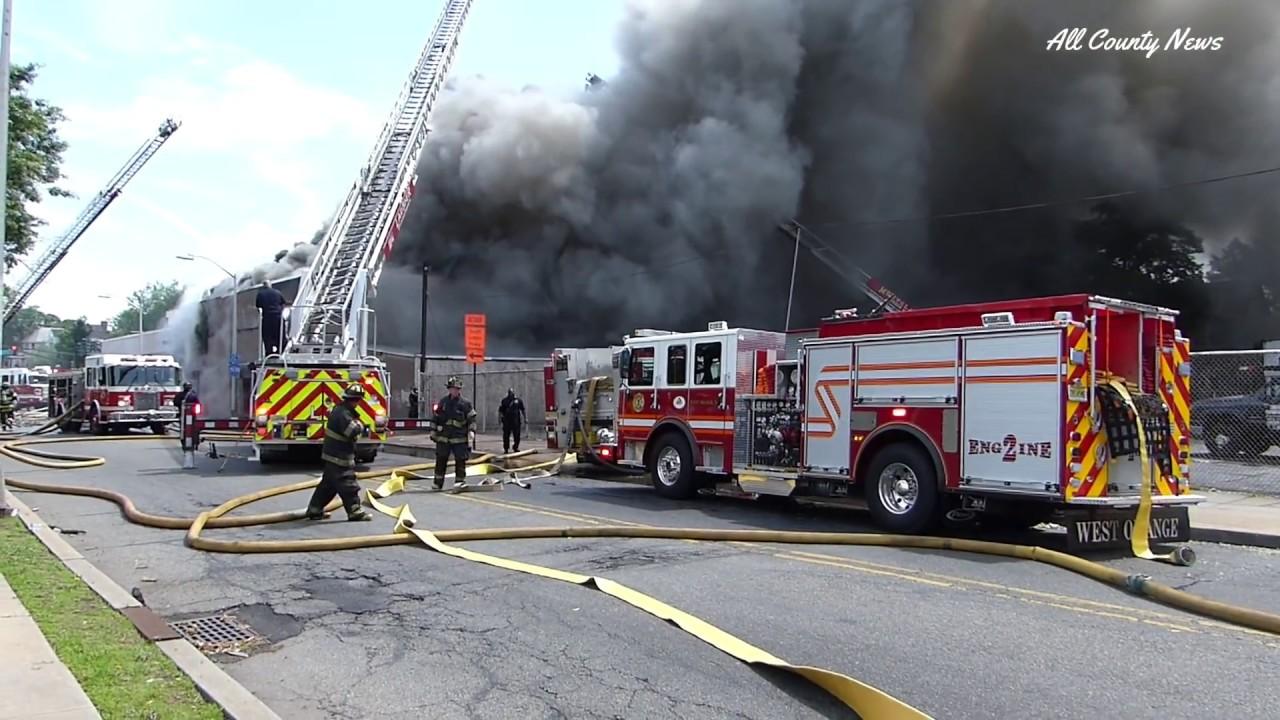 East Orange Commercial Bldg Fire S Grove Street