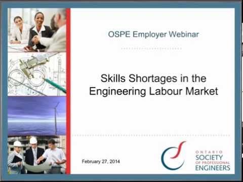 Skill Shortages in the Engineering Labour Market
