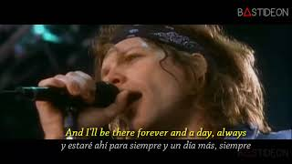 Bon Jovi - Always (Sub Español + Lyrics)