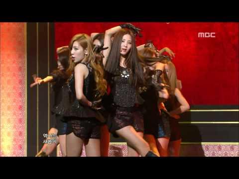 Girls' Generation SNSD - The Boys 소녀시대 - 더 보이즈 Music Core 20111112