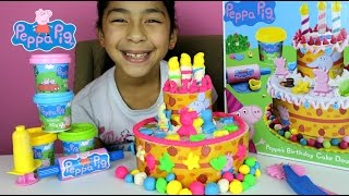 Tuesday Play Doh Peppa Pig Cake| Peppa