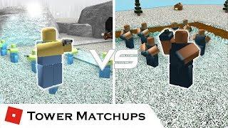 Niedrig bewertet | Tower Matchups | Turmschlachten [ROBLOX]