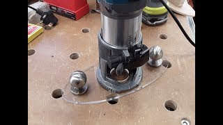 the small shed #95a - Katsu router base plate