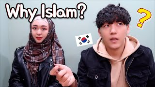 Why did a Korean girl become a Muslim?