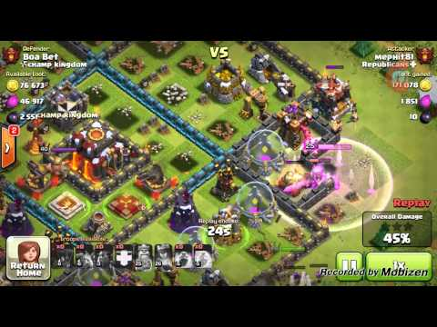 CLASH OF CLANS, XBOW GLITCH!!!!!!!1