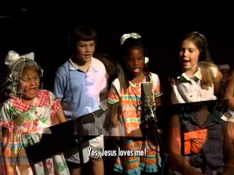 Jesus Loves Me (with lyrics) - Cedarmont Kids