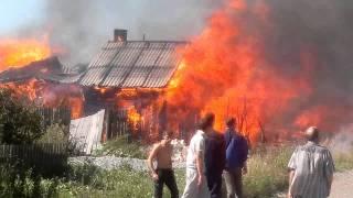11 августа пожар в Ниженй Туре 2